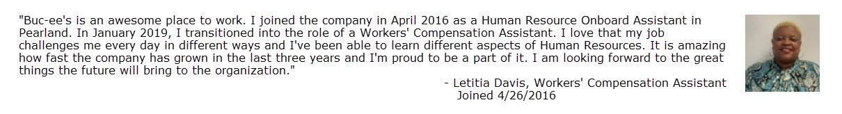 20.5.8 Letitia Davis Quote